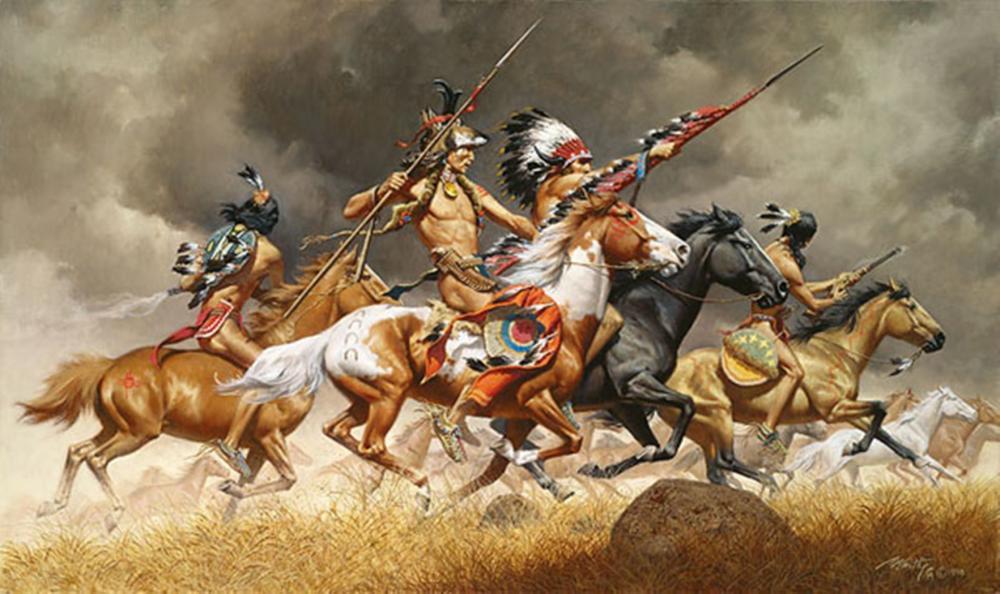 Frank C. Mccarthy…Thunder Across The Plains