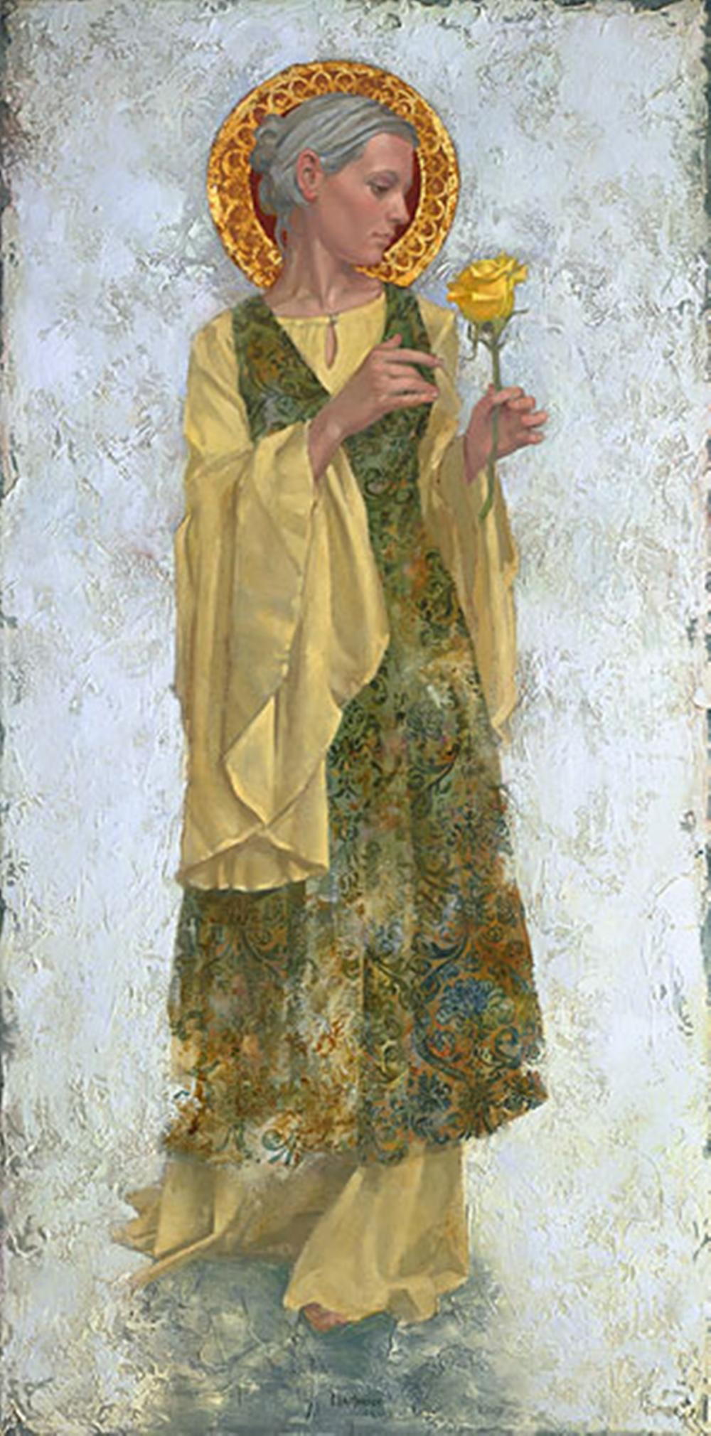 James C. Christensen…The Yellow Rose