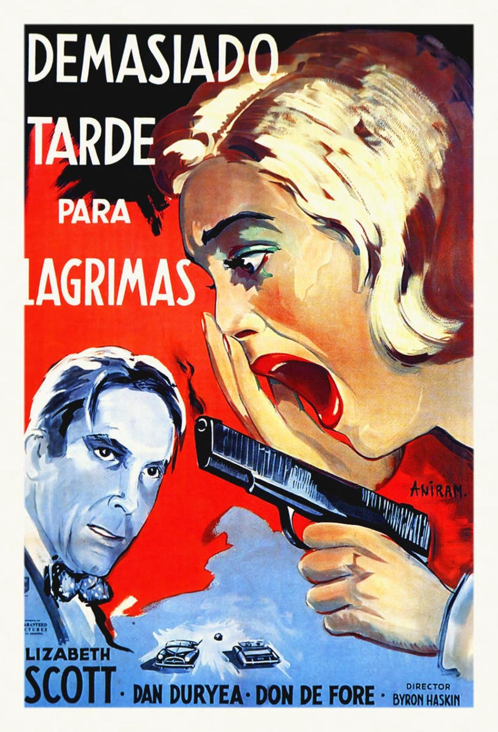 HOLLYWOOD PHOTO ARCHIVE - SPANISH - TOO LATE FOR TEARS