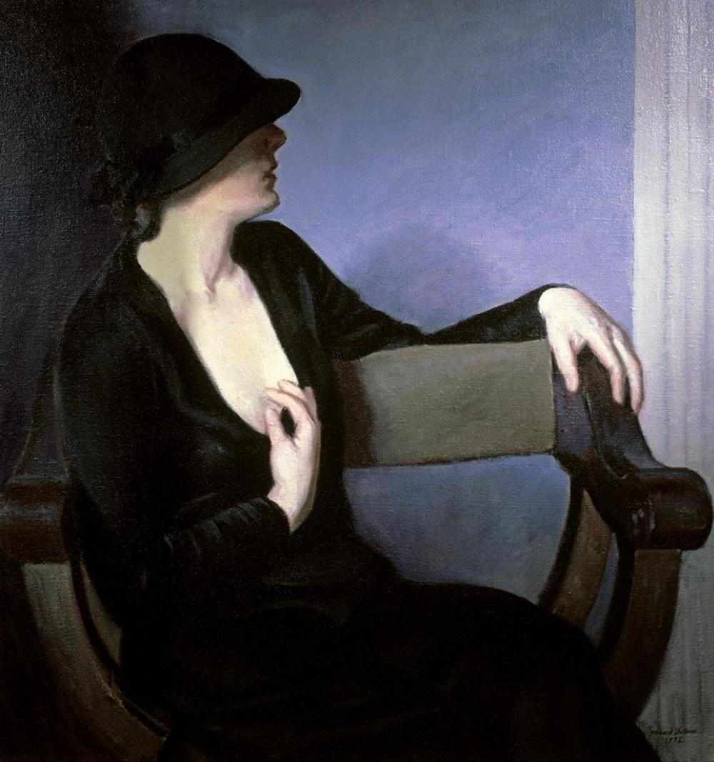 BERNHARD GUTMANN - WOMAN IN BLACK