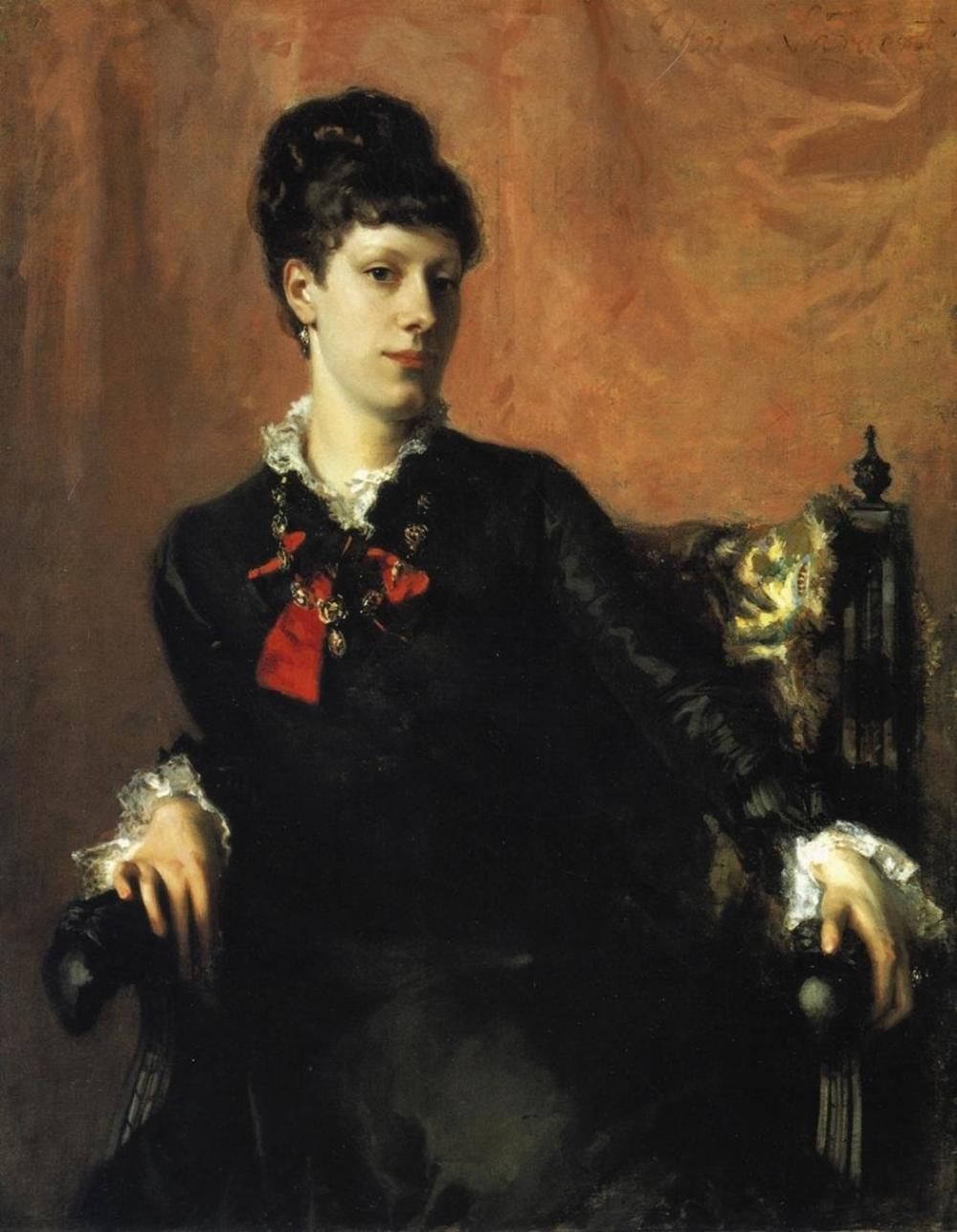JOHN SINGER SARGENT - MISS FRANCES SHERBORNE RIDLEY WATTS