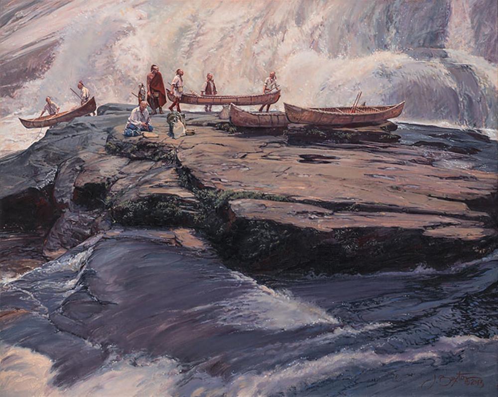 John Buxton…A Brief Delay At The Wall