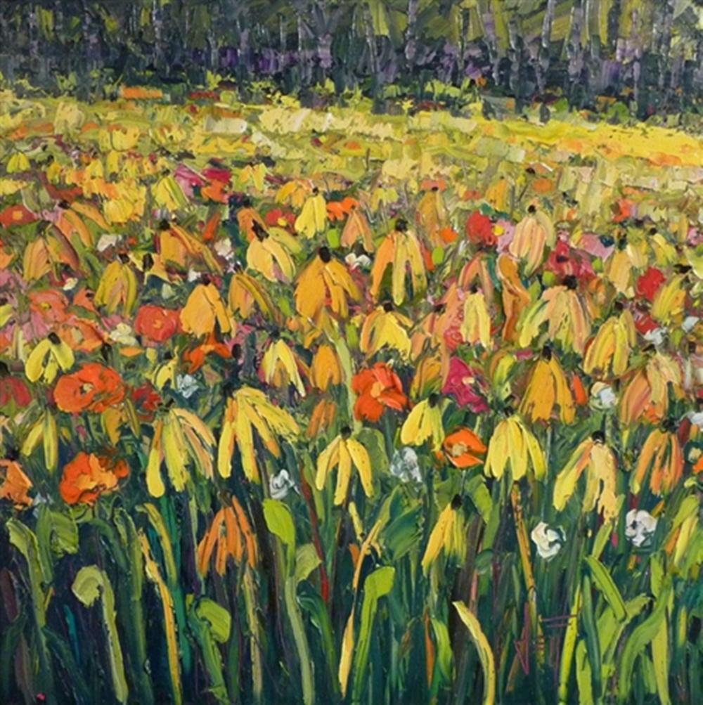 Jeff Boutin - Cone Flowers