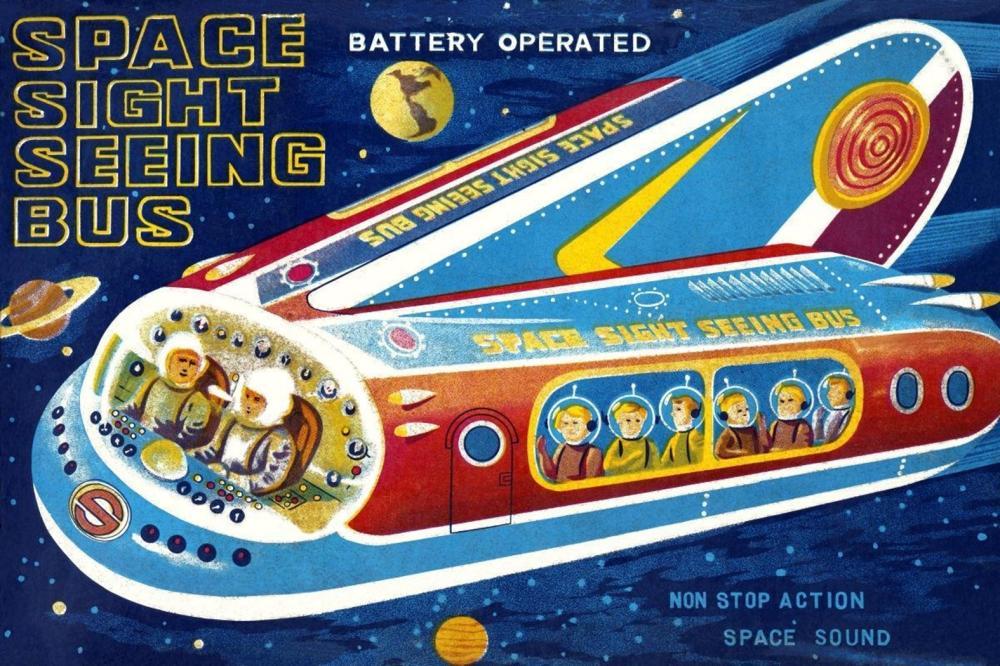 RETROROCKET - SPACE SIGHT SEEING BUS