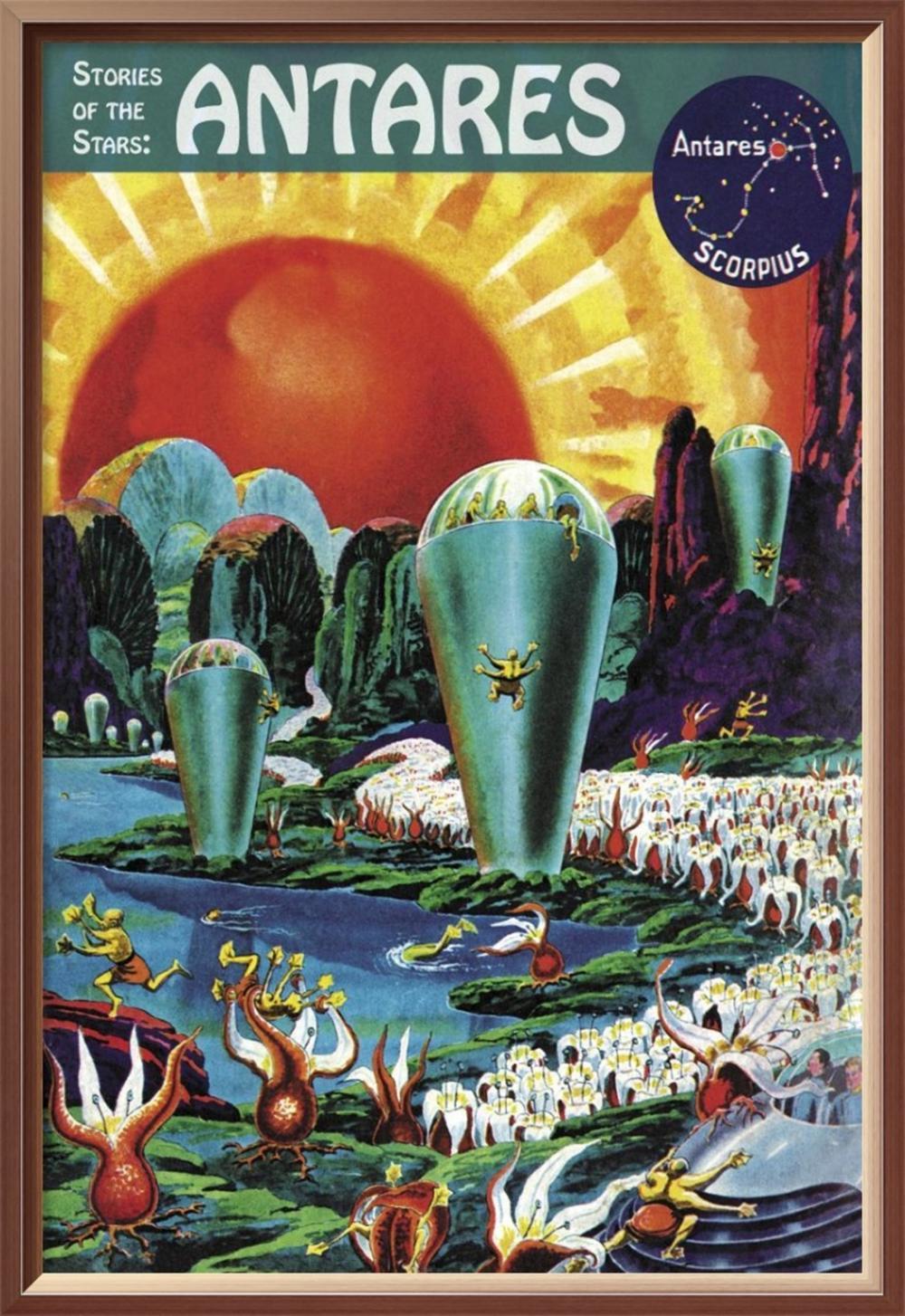 FRANK R. PAUL - RETROSCI-FI: STORIES OF THE STARS - ANTARES
