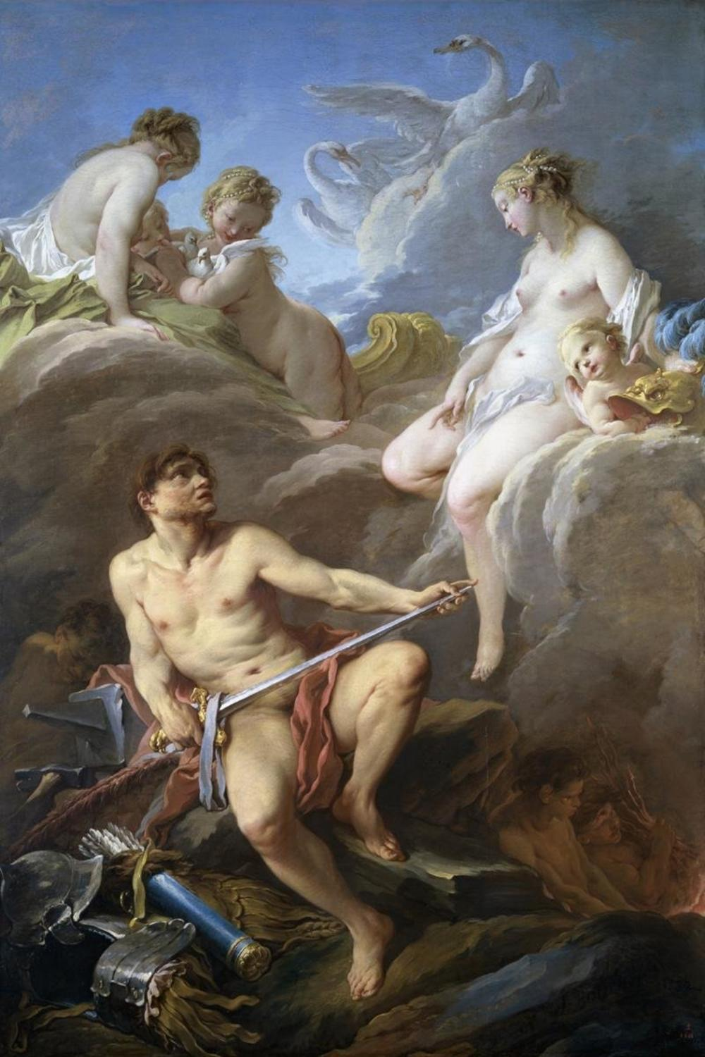 FRANCOIS BOUCHER - VENUS REQUESTING ARMS FOR AENEAS FROM VULCAN