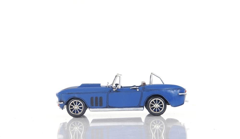 Blue Chevrolet Corvette