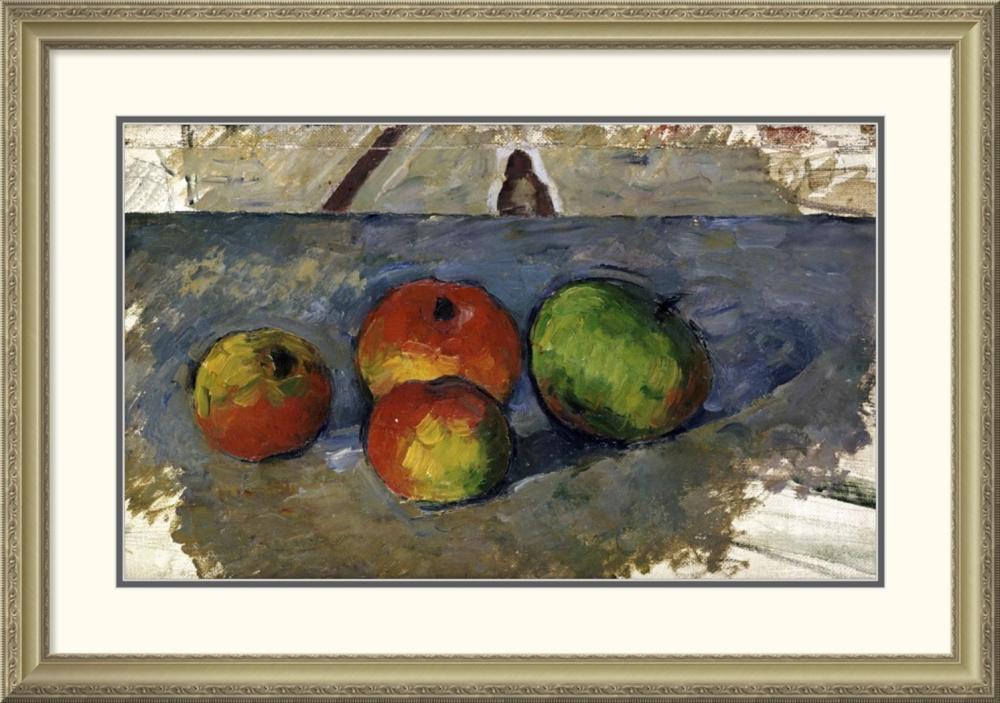 PAUL CEZANNE - FOUR APPLES