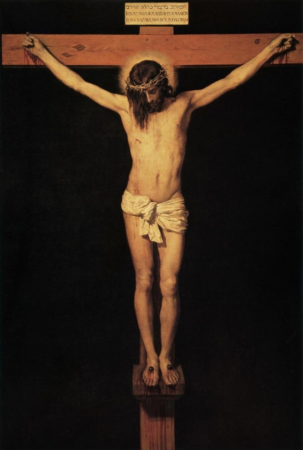 DIEGO VELAZQUEZ - CHRIST ON THE CROSS