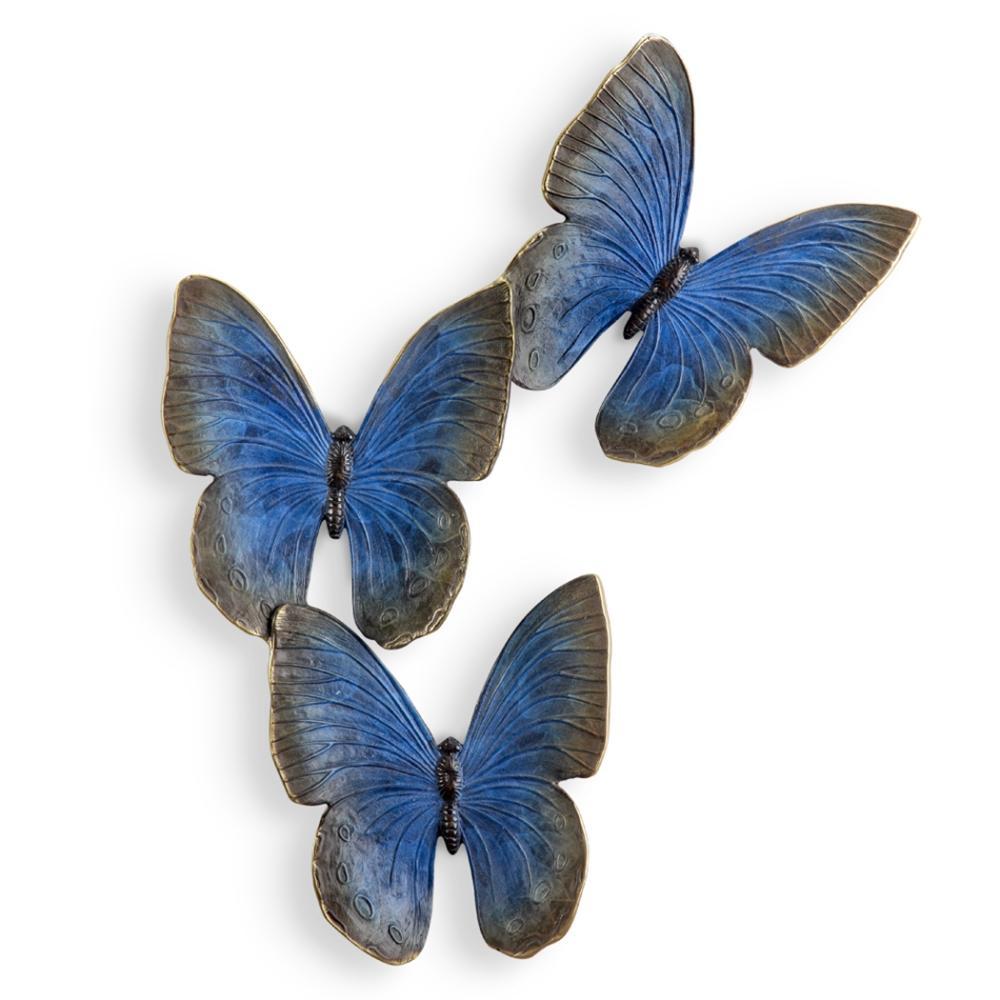 Fluttering Butterflies Wall Plaque