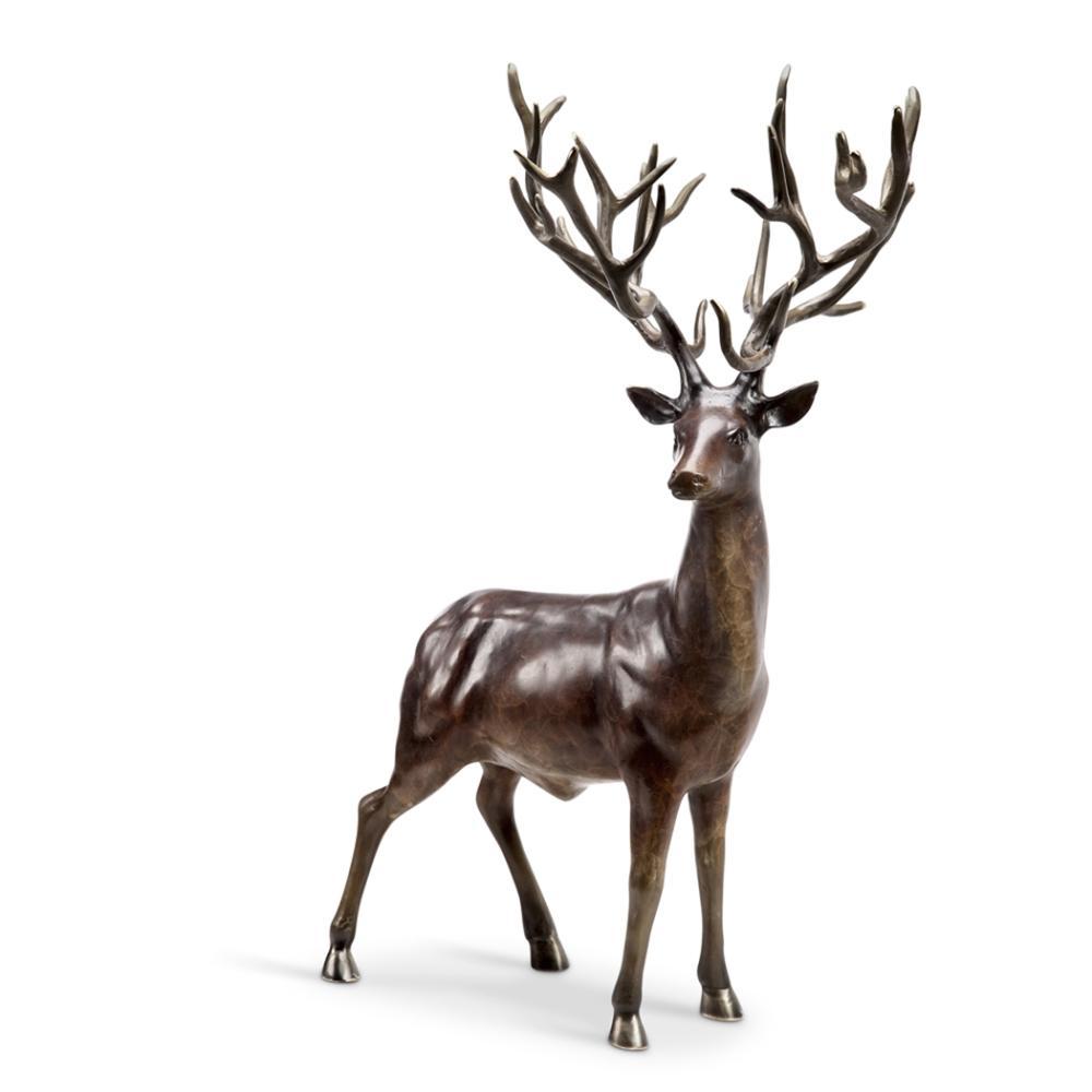Woodlands King (buck deer)