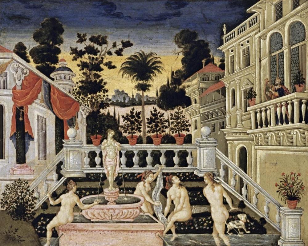 THEODOROS PULAKIS - DAVID WATCHING BATHSHEBA BATHE