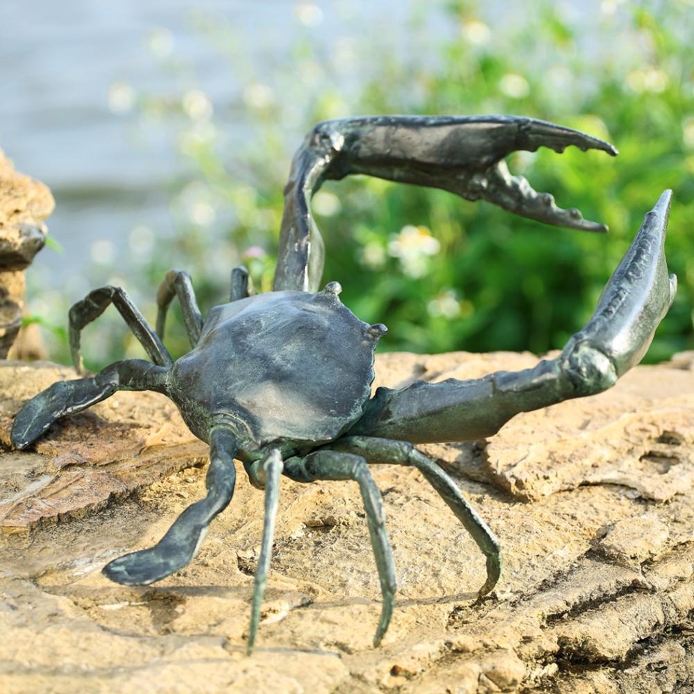 Garden Crab Sculpture
