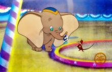 Walt Disney Disney Dumbo Sericel
