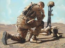 Soldiers Cross 30x40
