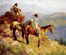 Howard Terpning - On the Edge of the World