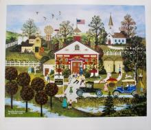 Jane Wooster Scott Vacation Anticipation Hand Signed Limited Edition Lithograph