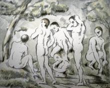PAUL CEZANNE - BATHERS