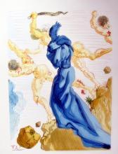 Salvador Dali 1960 Divine Comedy Inferno #15