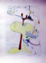 Salvador Dali 1975   Hommage A Quevedo From Visions De Quevedo Suite