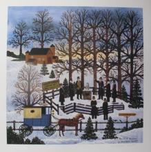 Jane Wooster Scott The First Shadow Hand Signed Limited Edition Lithograph