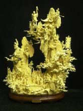 Bone Fairies Mountain - White - 18 Immortals
