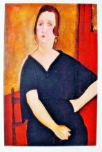 Amadeo Modigliani Mme. Amadee ? Woman With Cigarette 1971