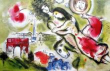 Marc Chagall Romeo And Juliet