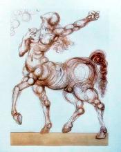 Salvador Dali 1960 Divine Comedy Inferno #25