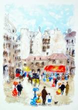 Urbain Huchet  Paris Scene