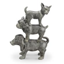 Dogpile Figurine (Dog Trio)