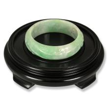 Untreated  Green Jadeite Jade Bangle
