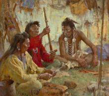 Howard Terpning - Seeking Guidance from the Great Spirit (Artists Proof)