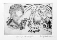 George Crionas  Homage To Marc Chagall