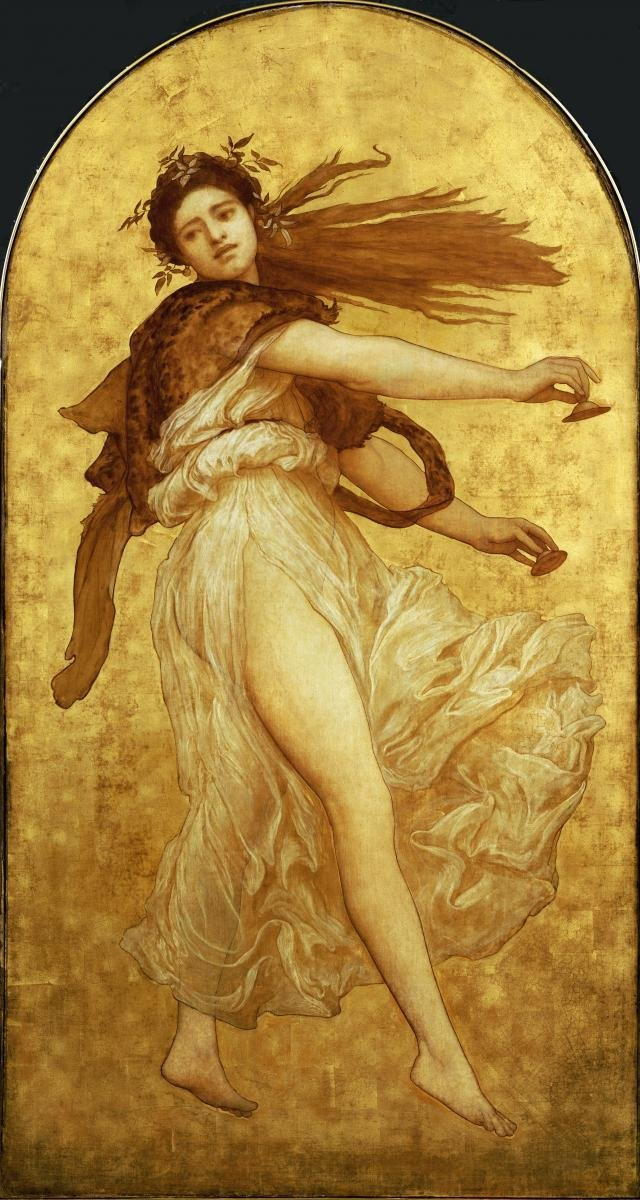 LORD FREDERICK LEIGHTON - THE DANCE OF THE CYMBALISTS