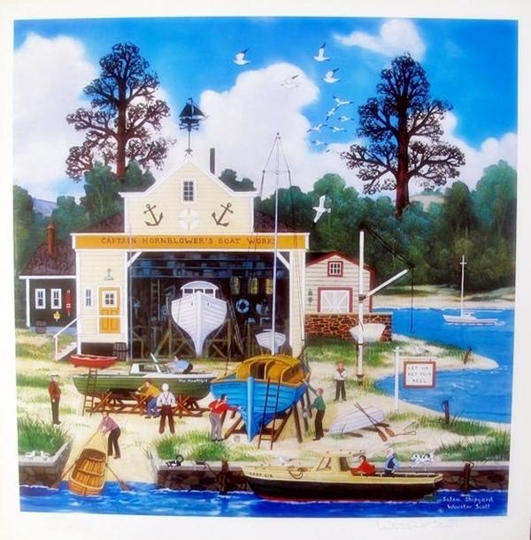 Jane Wooster Scott Salem Shipyard