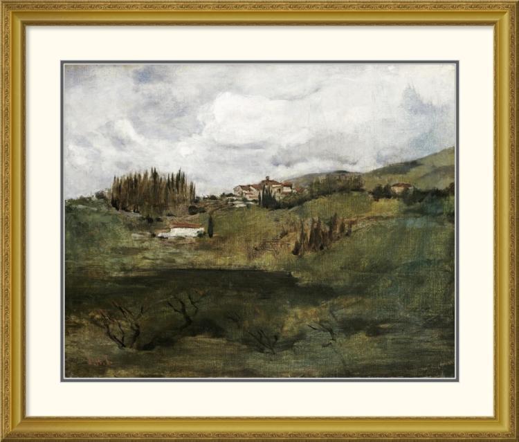 John Henry Twachtman - Tuscan Landscape