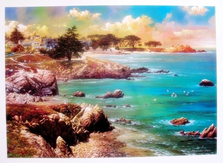 Alexander Chen Along The Coast California Ocean Art