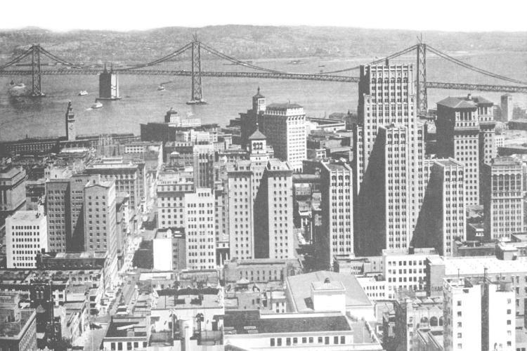 VINTAGE SAN FRANCISCO - OAKLAND BAY BRIDGE, SAN FRANCISCO, CA #1