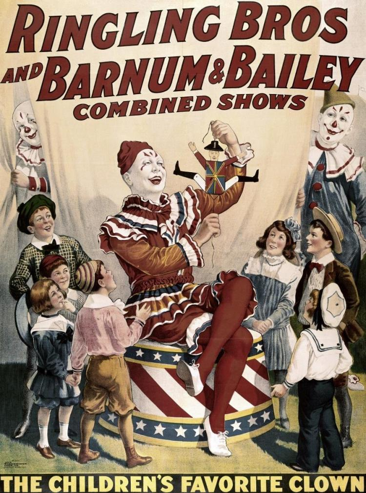 UNKNOWN - BARNUM & BAILEY - CHILDREN'S FAVORITE CLOWN