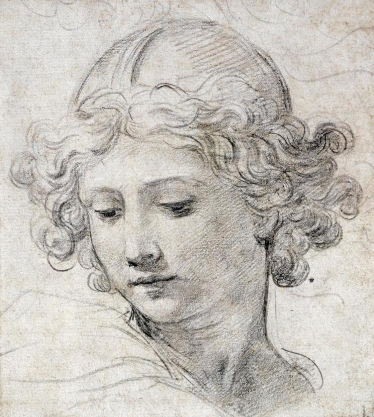 PIETRO BERRETTINI - THE HEAD OF AN ANGEL