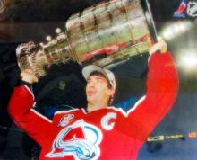 Colorado Avalanche Joe Sakic  Stanley Cup