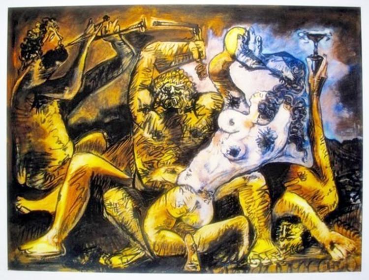 Pablo Picasso #03 Bacchanal