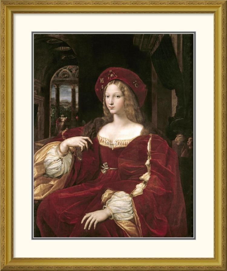 Raphael - Portrait of Joanna of Aragon
