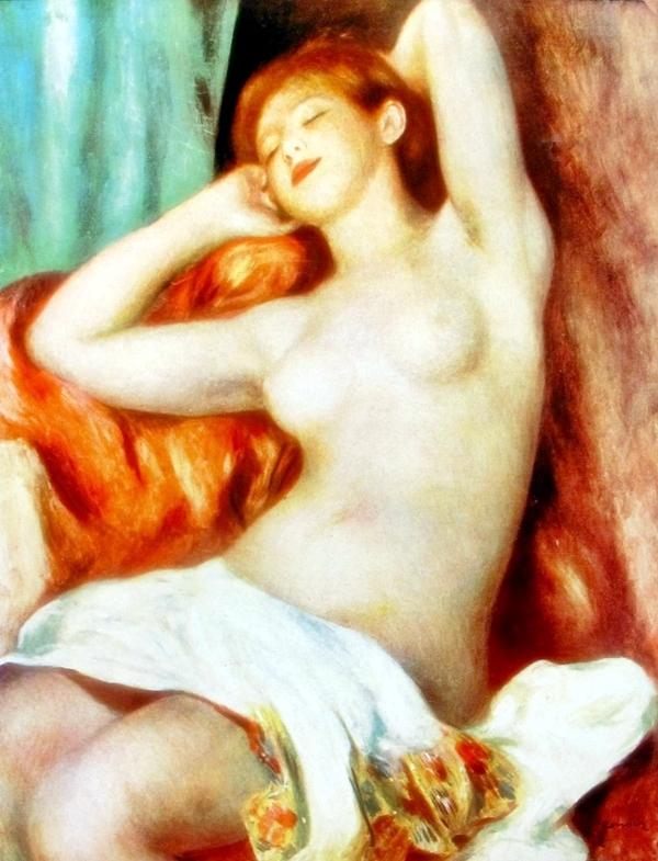 Pierre Auguste Renoir Nude Study