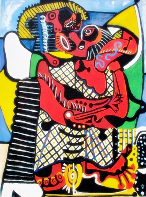 Pablo Picasso #53 The Embrace