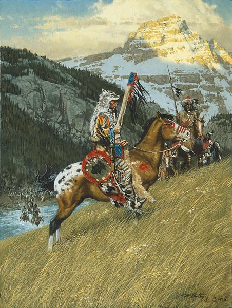 Frank C. Mccarthy Blackfoot Raiders