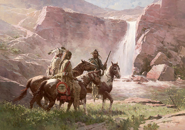 Z.S. Liang Red Rock Crossing, Northwest Montana, 1850