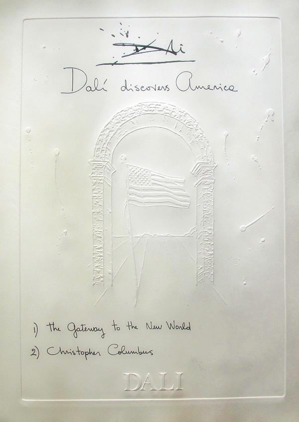 Salvador Dali Discovers America 1979 E