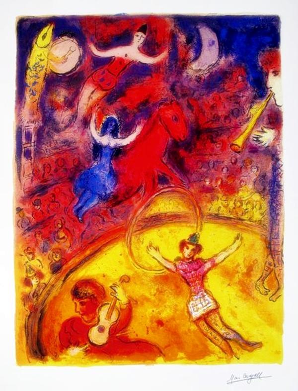 Marc Chagall Circus